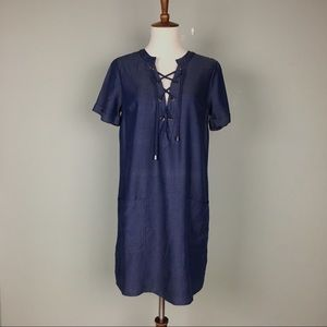 Lovers + Friends Shirt Dress Size XS